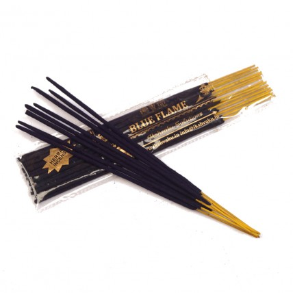 Blue Flame  Incense Sticks  - Two Pouches