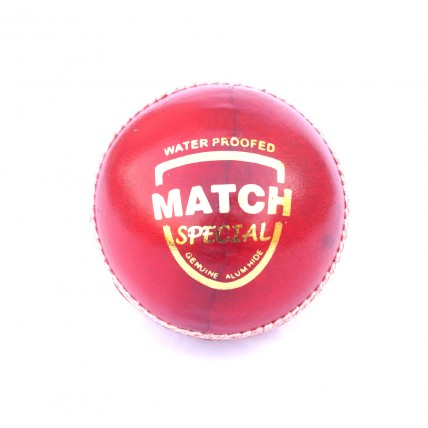 Cricket Ball | Leather | Red | Match Special Grade