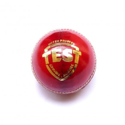 Cricket Ball | Leather | Red | Test Grade