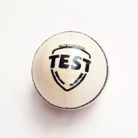 Cricket Ball | Leather | White | Test Grade