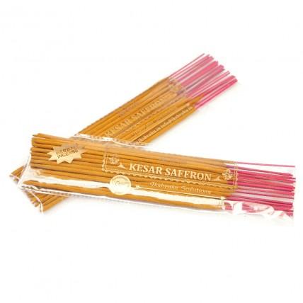 Kesar Saffron Incense Sticks - Two Pouches