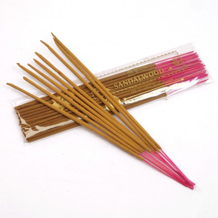 Sandalwood  Incense Sticks  - Two Pouches